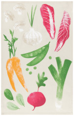 Veggies Printed Dishtowel