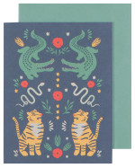 Fierce Greeting Card