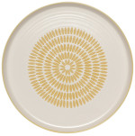 Imprint Dinner Plate Ochre