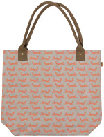 Hill & Dale Fox Papercraft Tote Bag