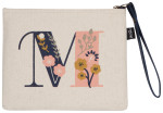 Monogram M Zipper Pouch