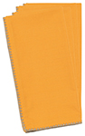 Cadmium Yellow Saanvi Napkins <br> Set of 4