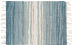 Seaglass Chindi Stripe Rug <br> 2' x 3'