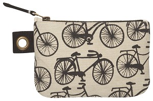 Bicicletta Small Zipper Pouch