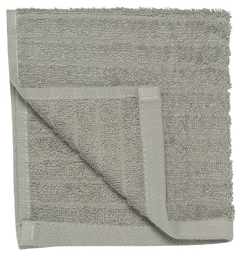 Pewter Gray Aegean Hand Towel