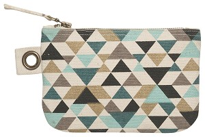 Tessellate Small Zipper Pouch