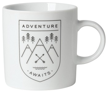 Adventure Awaits Short Mug