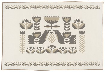 Folklore Cotton/Linen Placemats <br> Set of 4