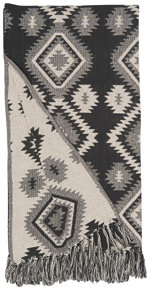 Geo Woven Throw