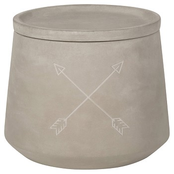 Arrows Concrete Canister Small