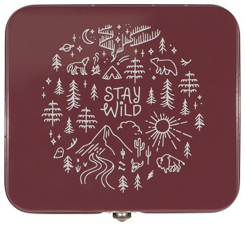 Stay Wild Keepsake Box