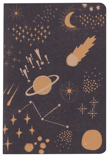Cosmic Lay-Flat Notebook Large