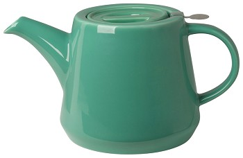 Hi-T Filter Teapot <br>Deep Green 4-Cup