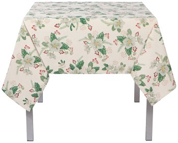 60x120 in Winterblossom Printed Table Cloth