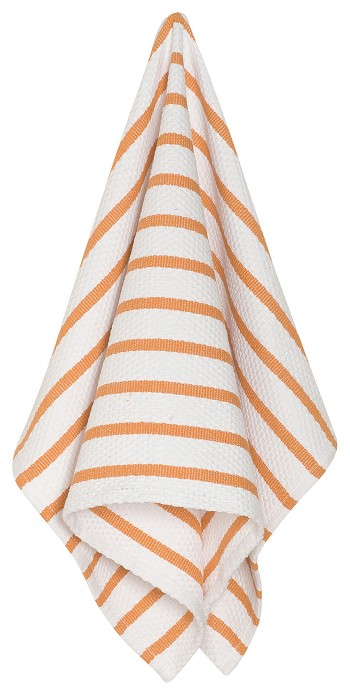 Kumquat Basketweave Dishtowel