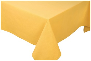 Honey Spectrum Tablecloth <br> 55 x 55 inch