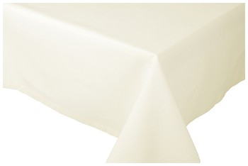 Ivory Spectrum Tablecloth <br> 55 x 55 inch