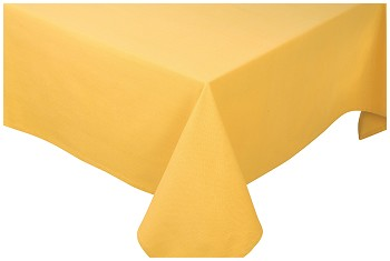 Honey Spectrum Tablecloth <br> 60 x 108 inch