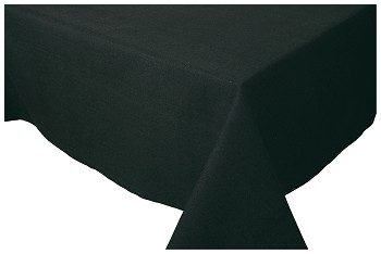 Black Spectrum Tablecloth <br> 60 x 108 inch