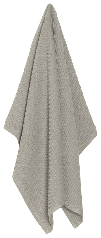 London Gray Ripple Dishtowel