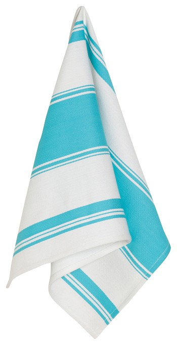 Bali Blue Symmetry Dishtowel