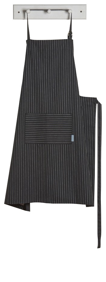 Black Pinstripe Mighty Apron