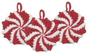 Tawashi Scrubbers - Peppermint<br> Set of 3