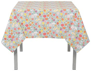 Flowers Of The Month Tablecloth <br> 60 x 120 inch