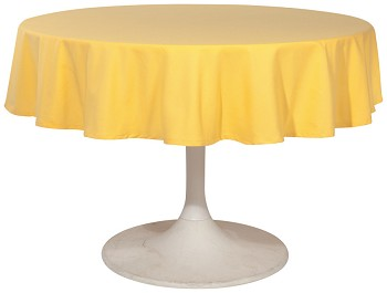 Honey Renew Tablecloth <br> 60 inch round