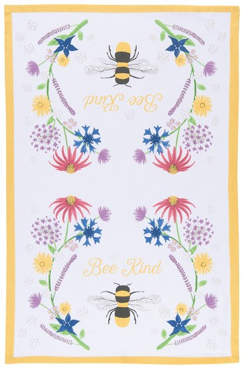 Bee Kind Dishtowel