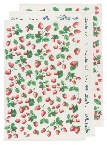 Berry Patch Baker's Floursacks <br> Set of 3