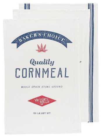 Dry Goods Baker's Floursacks <br> Set of 3