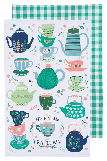 Perfect Cuppa Dishtowels <br> Set of 2