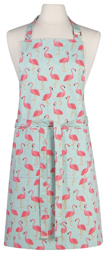Flamingos Chef Apron