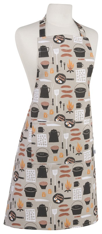 Camp Cookout Chef Apron