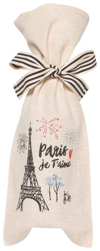 Paris Je Taime Wine Bag