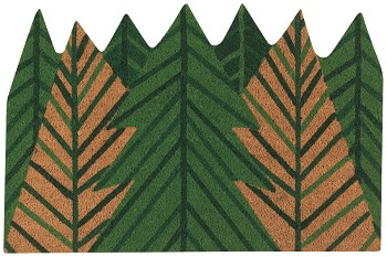 Evergreen Shaped Doormat