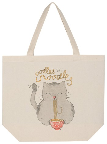 Oodles Of Noodles Tote Bag