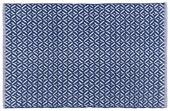 Indigo Diamond Floormat