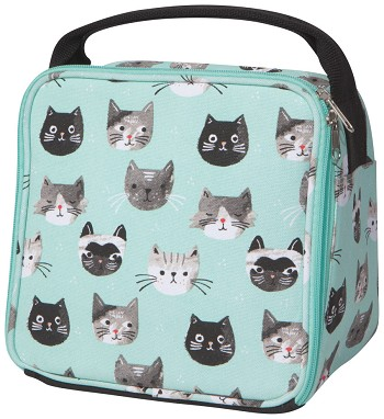 Cats Meow Lets Do Lunch Bag