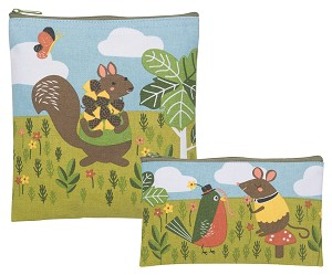Critter Capers Snack Bags <br> Set of 2