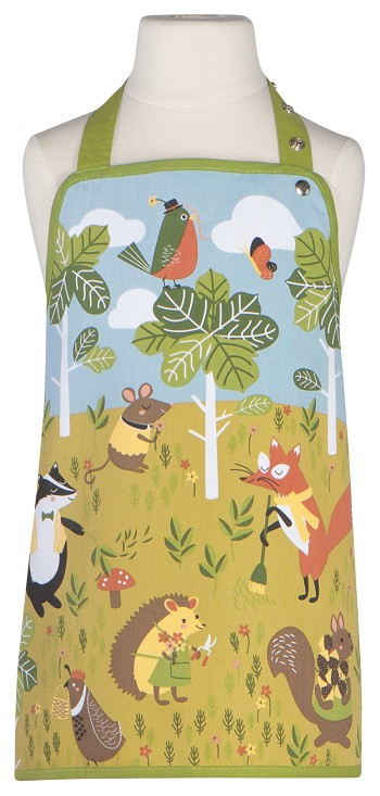 Critter Capers Kid's Apron