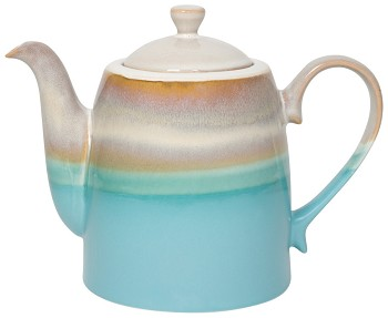 Horizon Reactive Glaze Teapot 40 oz