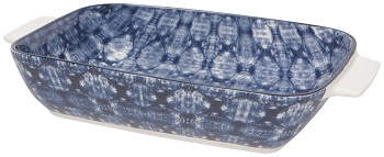 Baking Dish Rectangle Large Shibori