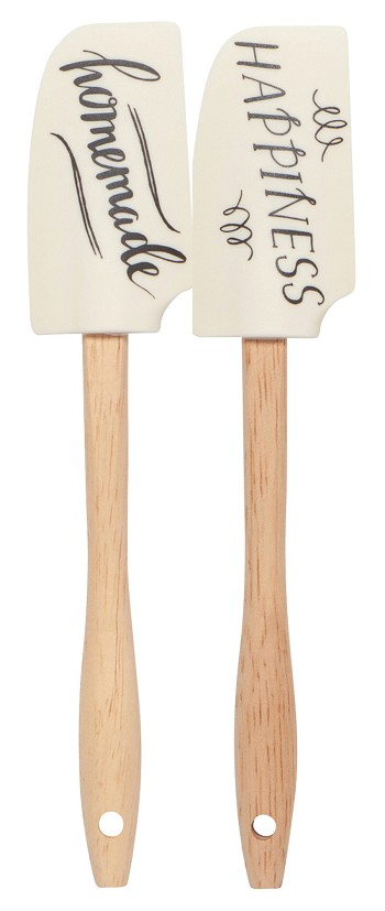 Homemade Happiness Mini Spatulas <br> Set of 2