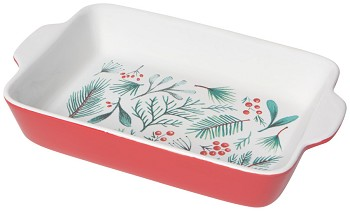 Bough & Berry Decal Baking Dish