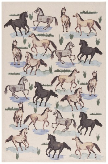 All The Pretty Horses Printed Dishtowel