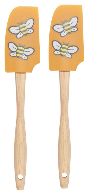 Bees Mini Spatula Set of 2