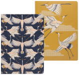 Flight Of Fancy Notebooks Set of 2