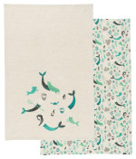 Sea Spell Dishtowels <br> Set of 2